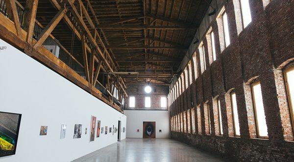 An art gallery in Brooklyn.