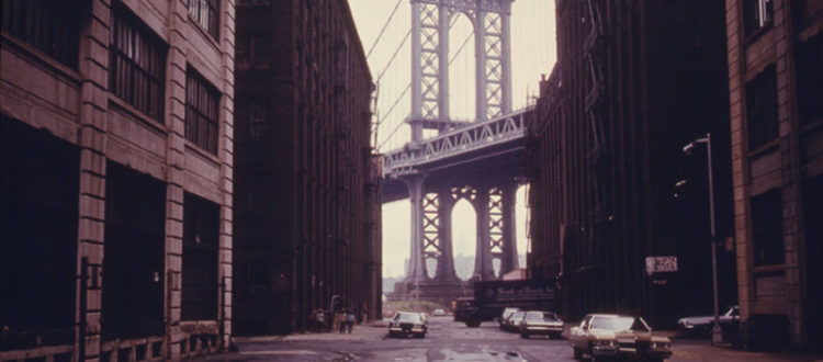 An old pic from DUMBO.