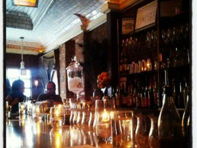 Cocktails bar in Brooklyn.