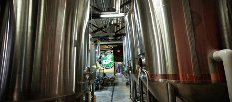A brewery in Brooklyn.