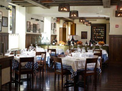 Italian restaurant in NYC.