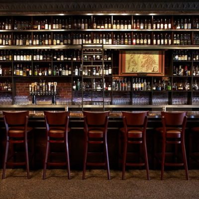 A whiskey bar in NYC.