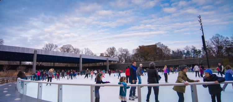 Brooklyn in winter.